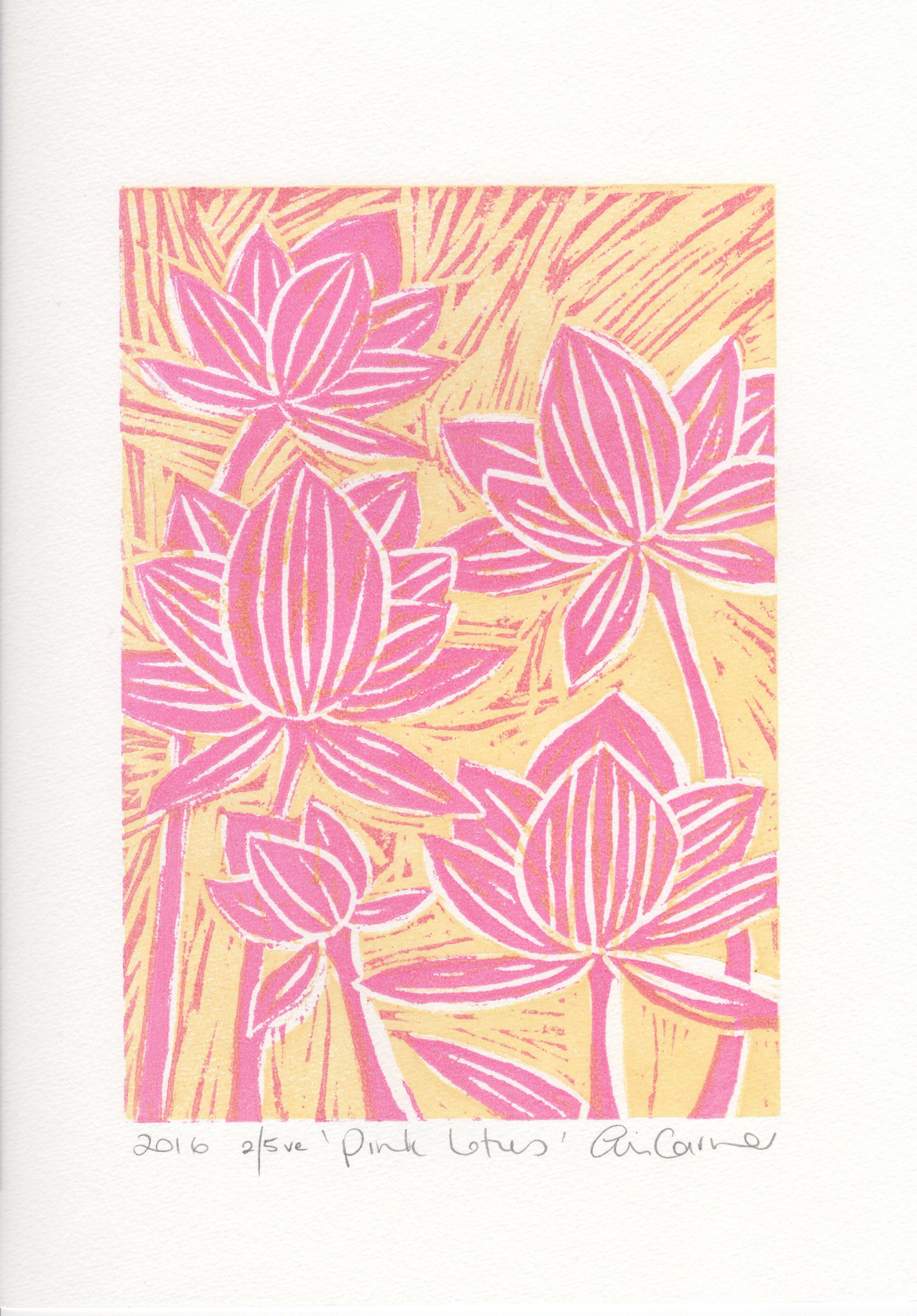 Pink lotus 1-5